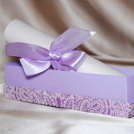 Жемчужный свиток в коробочке